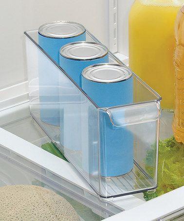Another great find on #zulily! Clear Fridge & Freezer Deep Bin by InterDesign #zulilyfinds