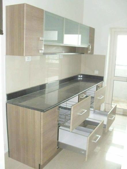 Iron Wicker Bakers Rack Modern Kitchen Cabinets Kitchen