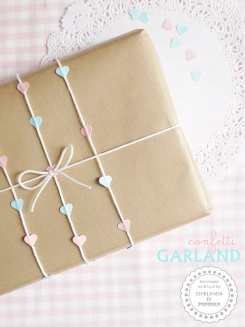 Love this wrapping using our hole punch http://www.papermash.co.uk/collections/desk/products/heart-hole-punch