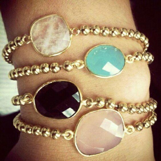 gemstone bracelets:
