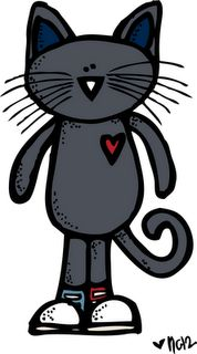 Pete the Cat Freebie:  First day of school tour cards, certificate and coloring page.