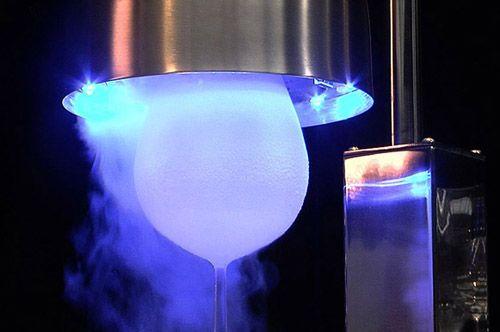 Articube m quina para enfriar copas y vasos equipo de for Copas y vasos para bar