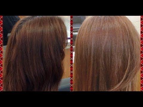 صباغة شعر بني مجربة كتعطي لون بني فاتح بدون أكسجين بمكونات طبيعية و صحية Youtube Hair Long Hair Styles Hair Styles