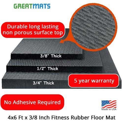 4x6 Black Rubber Mats Rubber Flooring Rubber Floor Mats Rubber Mat