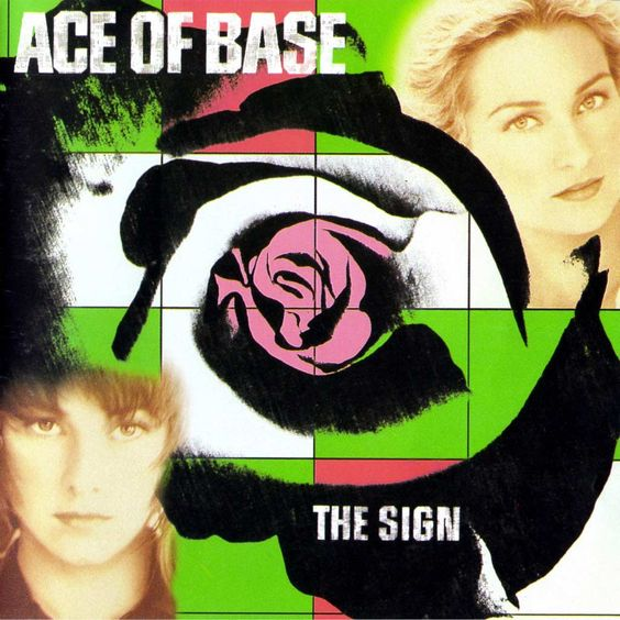 Ace of Base – The Sign (single cover art)