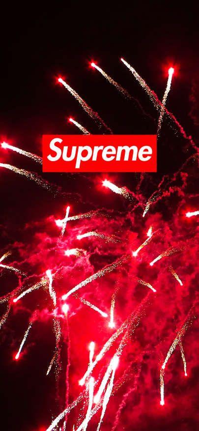 Free Download Wallpaper Iphone Xs Xr Xs Max Supreme Wallpaper Fireworks 1125 2436 En 2020 Fond D Ecran Iphone Fond D Ecran Supreme Fond Ecran Iphone