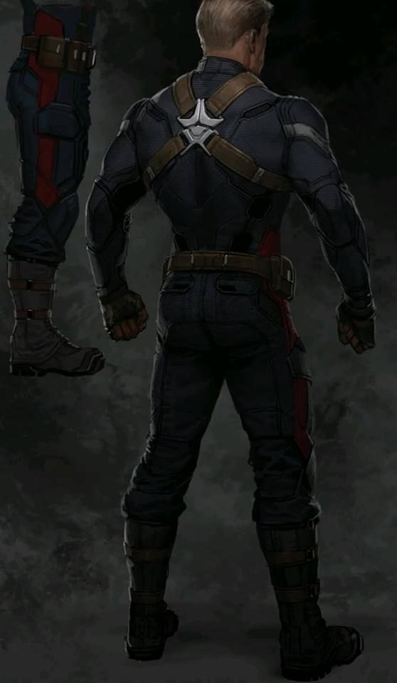 Captain America The Winter Soldier Concept Art Features New Takes On Cap Black Widow Ba Captain America Suit Captain America Cosplay Captain America Costume