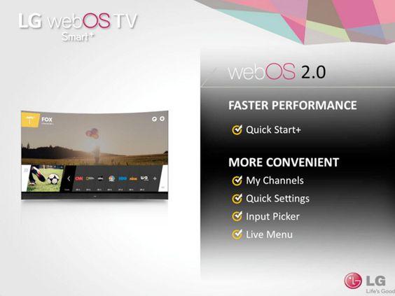 LG WebOS 2.0 для Smart TV приносит скорость