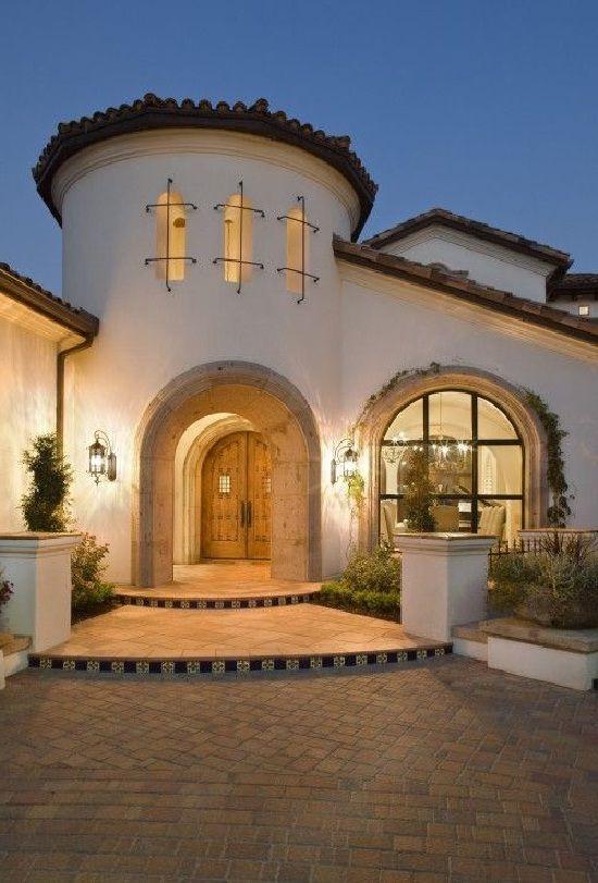 Mediterranean Entryway Ideas Spanish Style Homes Spanish House Mediterranean Architecture
