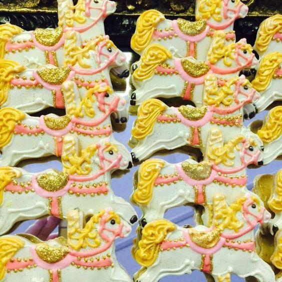 Carousel Horse Cookies