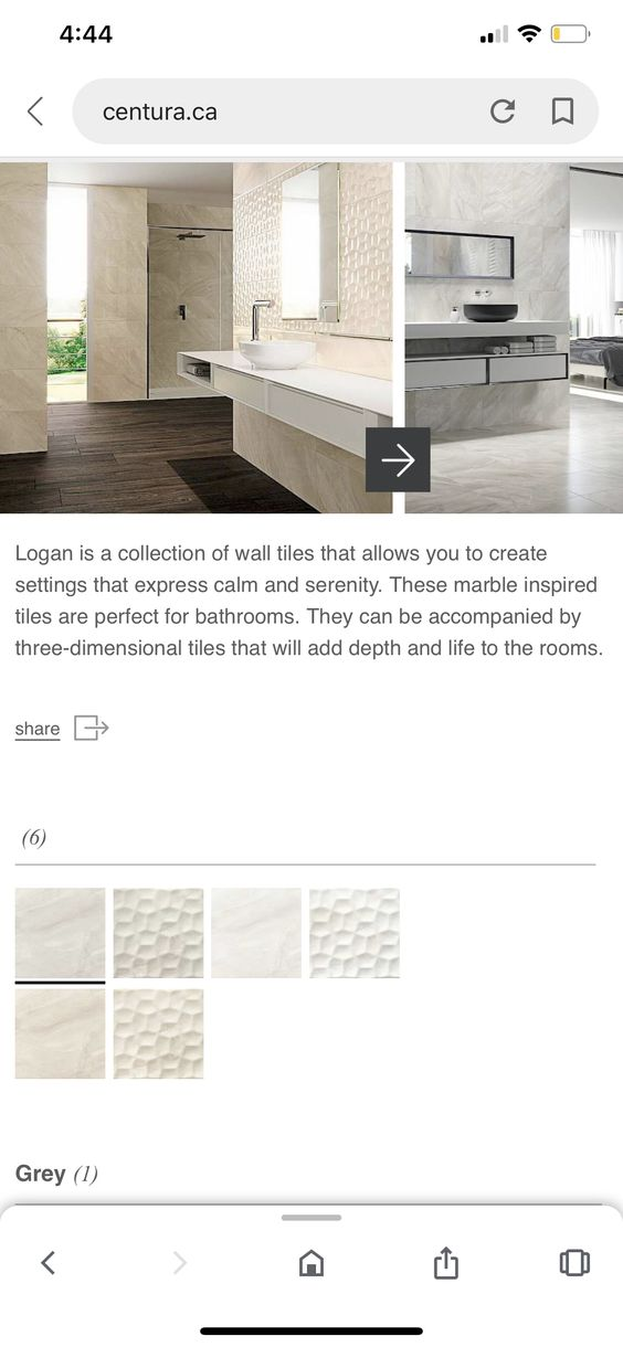 Pin By Anna Rajpat On Master Bathroom In 2020 Dimensional Tile Three Dimensional Wall Tiles