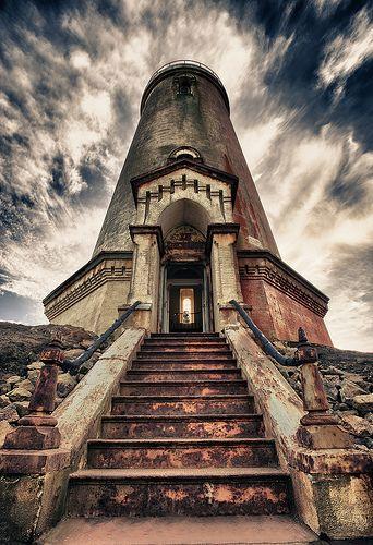 Faro de Piedras Blancas costa central de California #faros #lighthouses #architecture