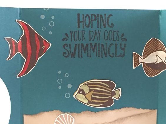 Hi Stampers! Today I am showcasing a neat Stampin' Up! stamp set called Seaside Shore.  I have used this stamp set several times since it's...