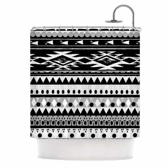 Hurit by Nika Martinez Shower Curtain