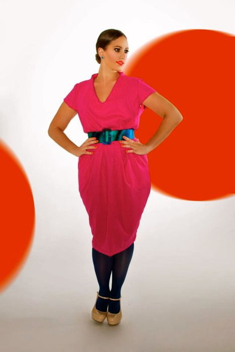 rose curve dress