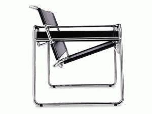 Wassily Chair by Marcel Breuer.