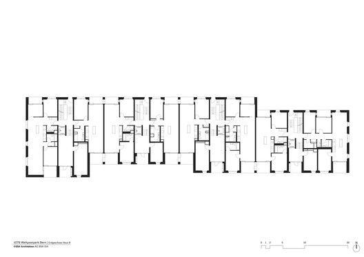 Gallery Of Weltpostpark Housing Ssa Architekten 25 Brick Facade Clinker Brick Ground Floor Plan