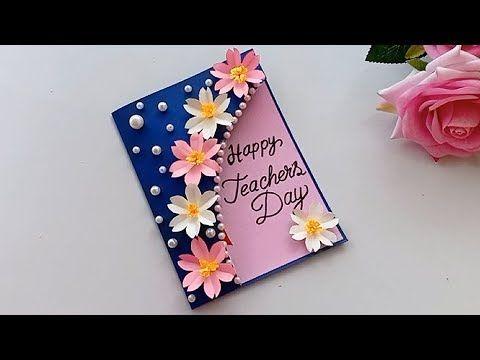 Diy Teacher S Day Pen Gift Card How To Make Teacher S Day Card Youtube In 2020 Diy Cards For Teachers Happy Teachers Day Card Teachers Day Greeting Card