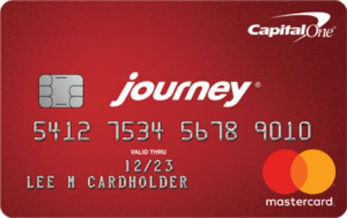 Capital One Journey Card With Images Rewards Credit Cards