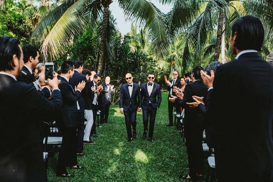 Jason Wu and Gustavo Rangelget Married Over a Wild Weekend in Tulum