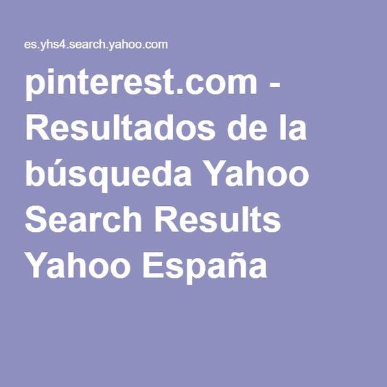 pinterest.com - Resultados de la búsqueda Yahoo Search Results Yahoo España