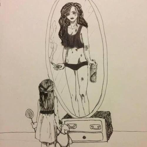 Imagini pentru sad kids tumblr