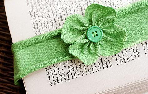 cute clover headband