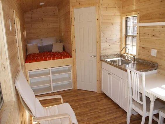 Tiny House Interior Bathroom tiny house gypsy caravan cottage - interior view. bathroom is