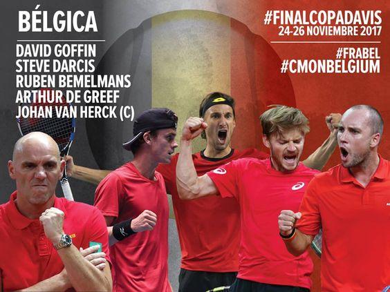 Finalistas Davis Cup 2017 Belgica