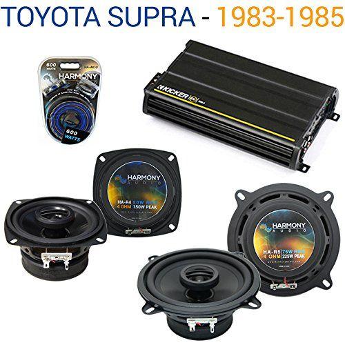 Toyota Supra 1983-1985 Factory Speaker Upgrade Harmony R4 ...