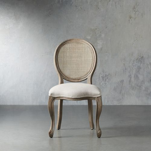 Margot 23 Cane Back Dining Side Chair In Vintage Side Chairs