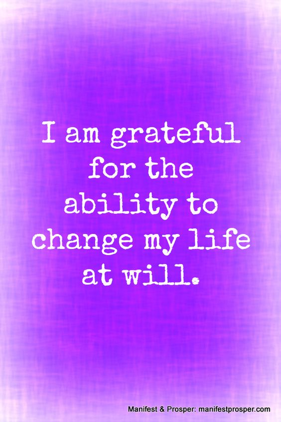 I Am Grateful For You Quotes Change my life, Gratef...