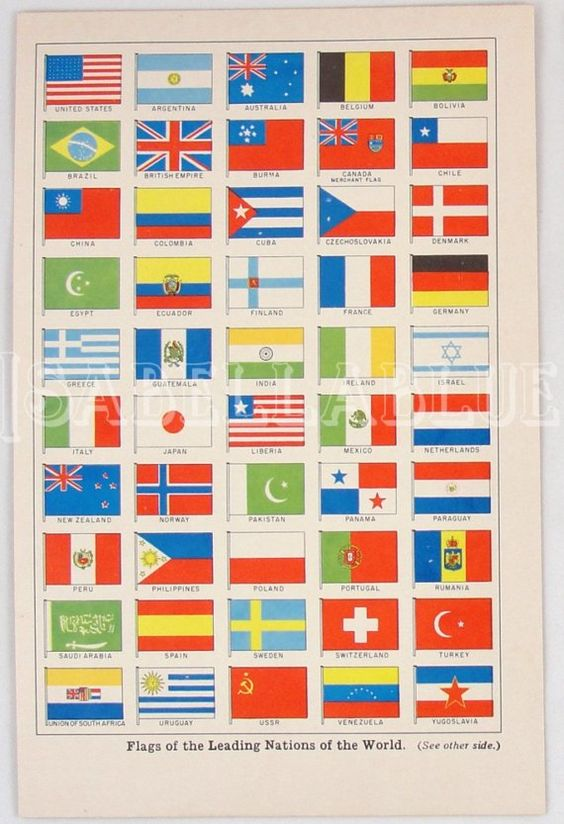 un country flags