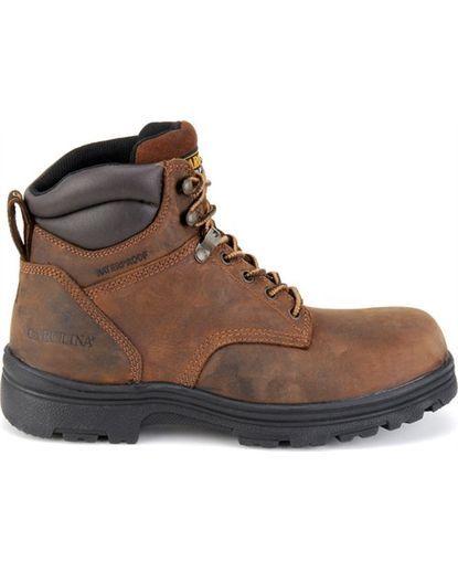 """Men's 6"""" Waterproof Steel Toe Work Boot"""