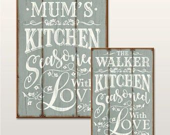 Pass The Butter Please Kitchen Signs Wood Kitchen Signs Wooden Signs