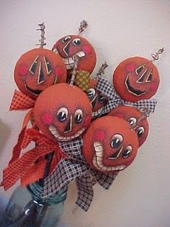 Pumpkin Head (styrofoam) tutorial