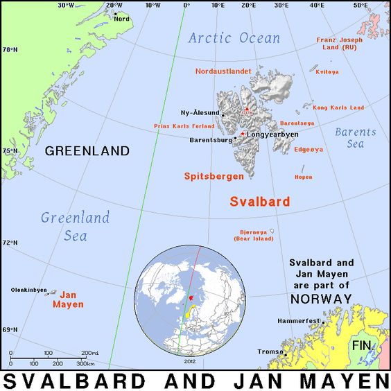 Jan Mayen:  18:  Capital - Longyearbyen: World Ranking - 128