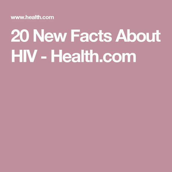 20 New Facts About HIV - Health.com