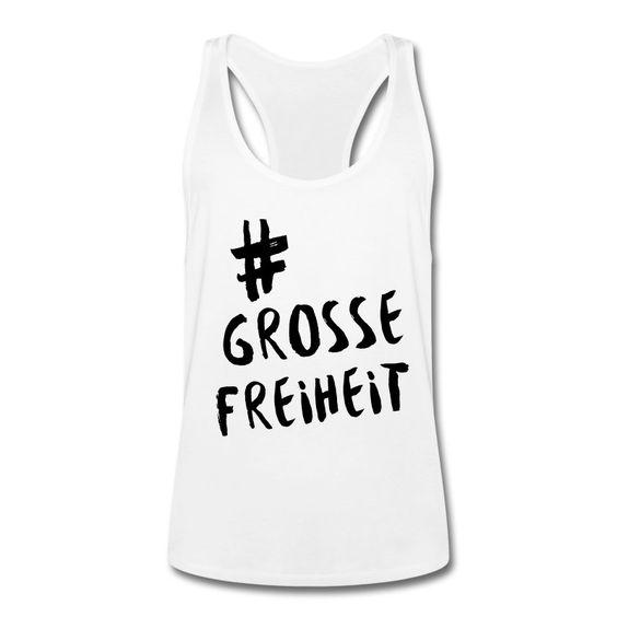 Auf der Suche nach der GROSSENFREIHEIT haben wir schon einmal das passende T-Shirt für dich ... Sportlich geschnittenes Tank Top für Männer