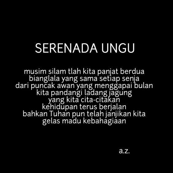 Pin Oleh Anggoro Subakti Di Puisi Indonesia Puisi