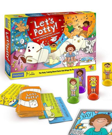 Look what I found on #zulily! Let's Potty! Board Game by Let's Potty #zulilyfinds