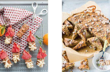 Samichlaus-Brownies und Nussecken