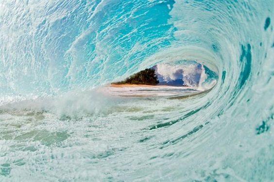 ondas azuis.........