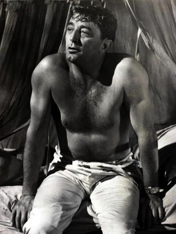 """""""The only difference between me and my fellow actors is that I've spent more time in jail."""" -Robert Mitchum"""