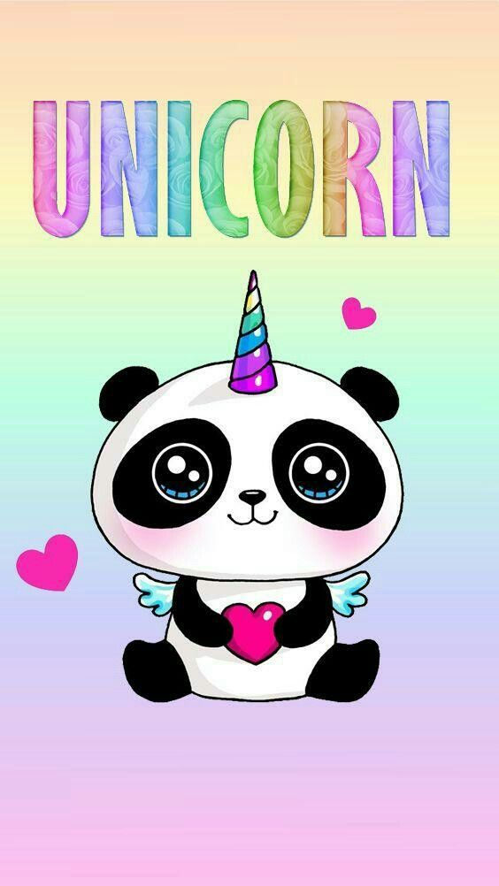 Panda Unicornio Panda Fondos Osos Pandas Dibujo Y Unicornios