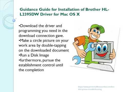 Download Brother Hl L2395dw Printers Driver Windows And Mac With Images Printer Driver Brother Printers Printer