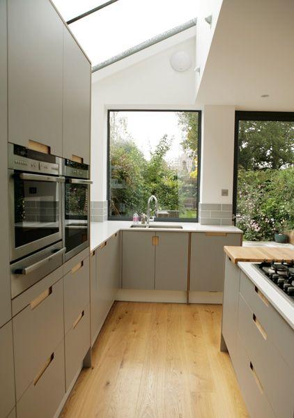 Birch Ply & Formica® Laminate Kitchen by Matt Antrobus