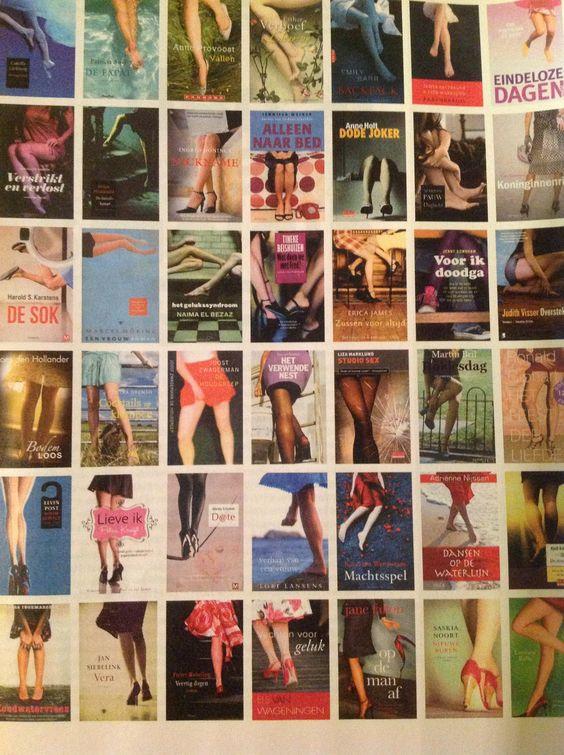 Book-a-likes. Wat doen al die vrouwenbenen op Nederlandse boekomslagen?  Volkskrant Magazine 16 maart 2013 - Jigal Krant