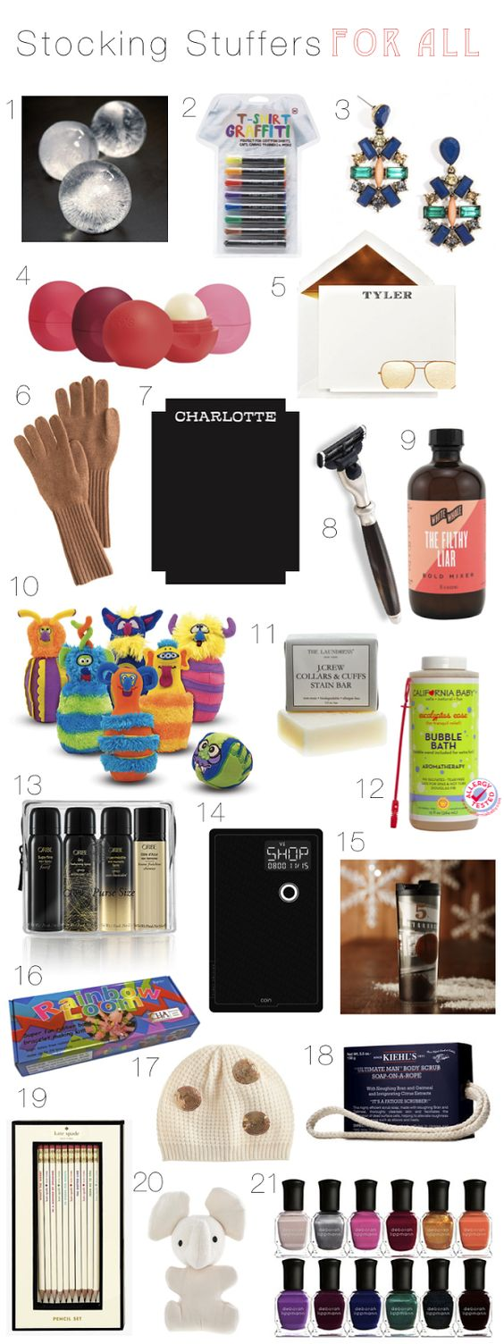Stocking Stuffers Holiday Gift Guide And Stockings On