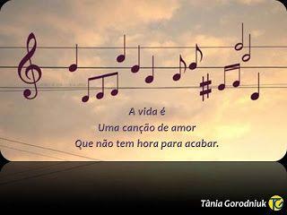 Você faz a Diferença: A vida é uma eterna canção de amor!